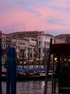 Pink Sky in Venice