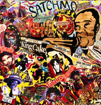 Satchmo collage