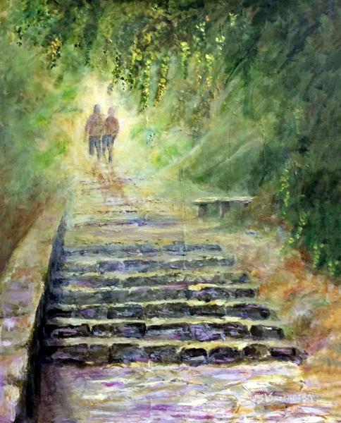 Steps, Mist, Lovers