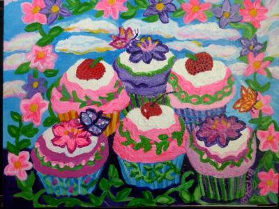 Seven Garden Cpcakes