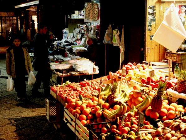 Fruit market, Palermo, Sicily