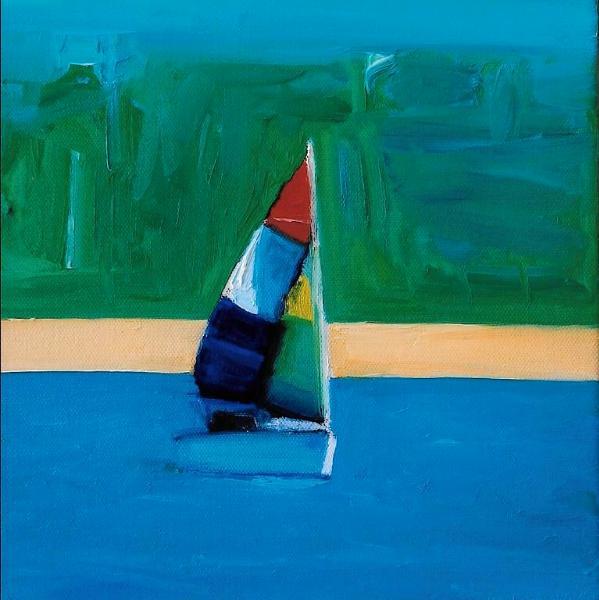 """Mondrian's Boat"""