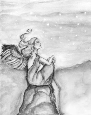 Angel At Dusk