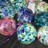 A great batch  of hand made ornaments