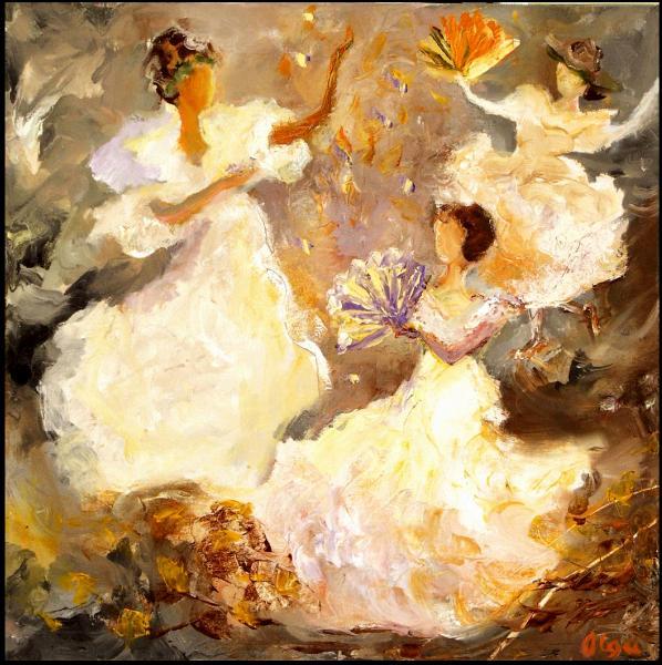 Contemporary Paintings by Olga Gernovski