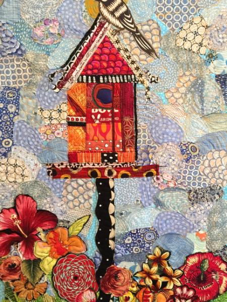 Bird House with Bird (nfs)
