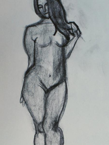 Sonia, Standing Nude