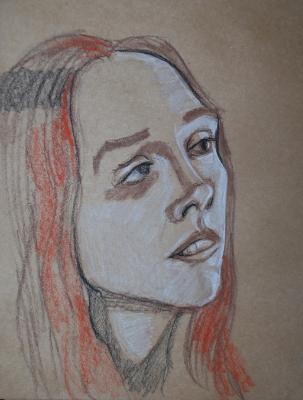 Olga, Head Study