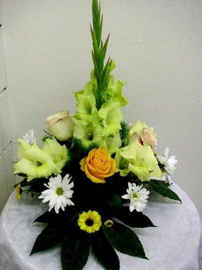 vertical table arrangement