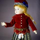 Costume d'Écossaise 1917