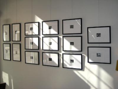 B+W polaroid photos