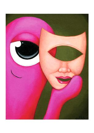 Rosie Behind the Mask