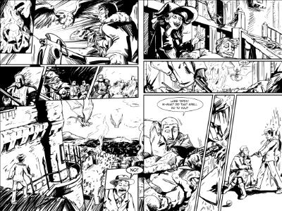 Battle of Romania Pages 1 and 2