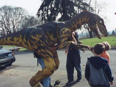 Jurrasic Park Raptor Puppet/Costume