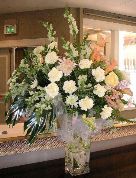 Hotel Foyer Flower Arrangements : Hotel lobby flower arrangements are big california