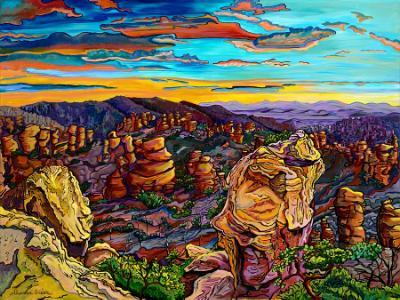 Arizona Glory - 36x48 Original Acrylic on Gallery Wrap Canvas SOLD