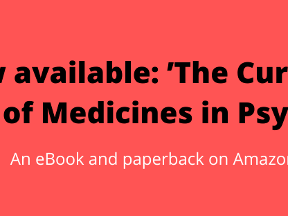 The Curious History of Medicines in Psychiatry