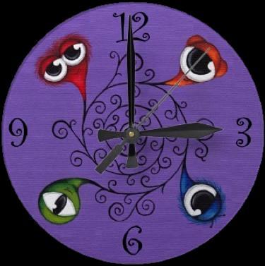 Vine Monster Clock