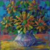 Vase on Table still life