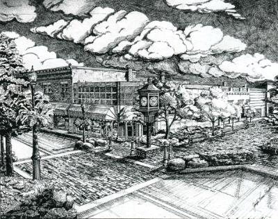 Commission of First Street in Sanford, FL