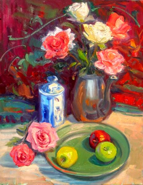 Sally L Fulton, Oil and Pastel Painter