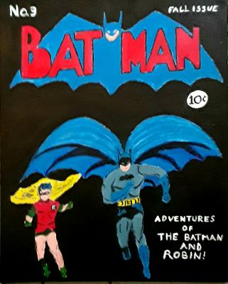 Batman Comic Cover #3 1940