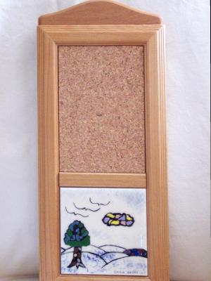 4 in. Cork Board