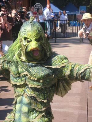 Video Clip: Creature from the Black Lagoon Costume.
