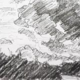 Cloudscape in East Devon
