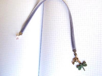 miniature keys book charm velvet bookmark