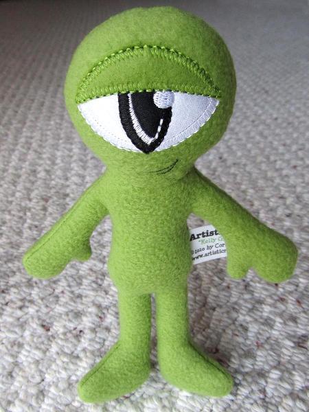 Plush Kelly Green 2