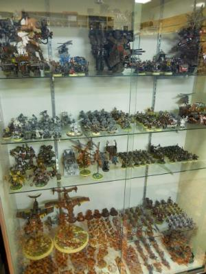 A Cabinet full of Orks