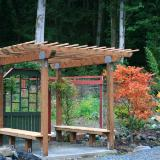 Arbor, Gate to garden & orchard