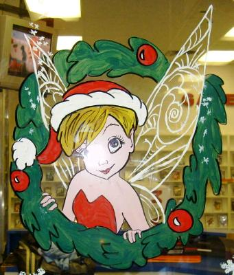 Tinkerbell wreath