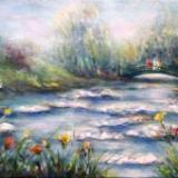 Monet's Garden No2 - SOLD