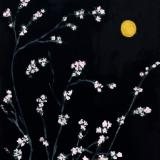 Apple Blossoms by Moonlight