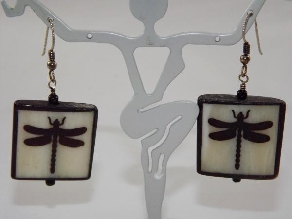 E-43 Dragonfly Earrings