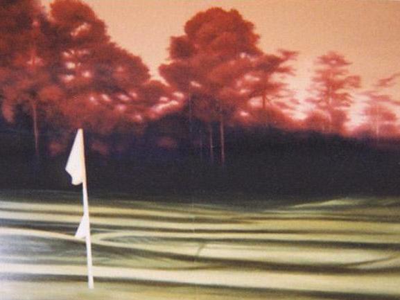 Nike Golf Mural