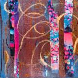 Confetti Light- Mix Collage-Canvas 6x8  - SOLD