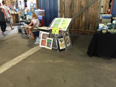 Tupps Brewery Art Walk, McKinney, TX - July 2015