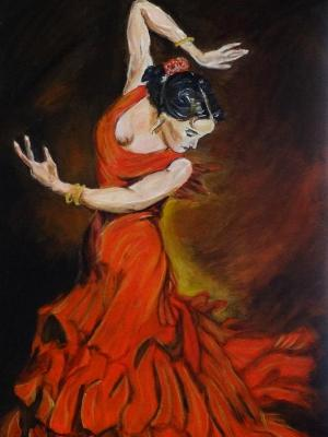 Spanish Dancer I