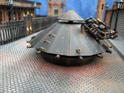 Da Vinci steam tank