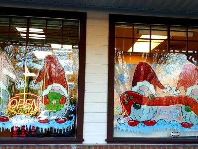 Window painting kit