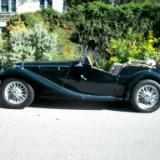 Automobiles: 1954 MG-TF
