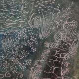 Garden Path, monoprint