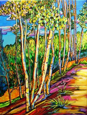 Aspen Delight - 24x18 original acrylic on canvas $650.00