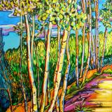 Aspen Delight - 24x18 original acrylic on canvas $650.00