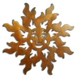 Happy Face Sun - Available in four sizes.  See description.