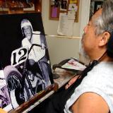 painting eddie