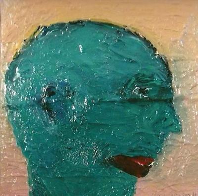 """""""Self Portrait in Green"""""""
